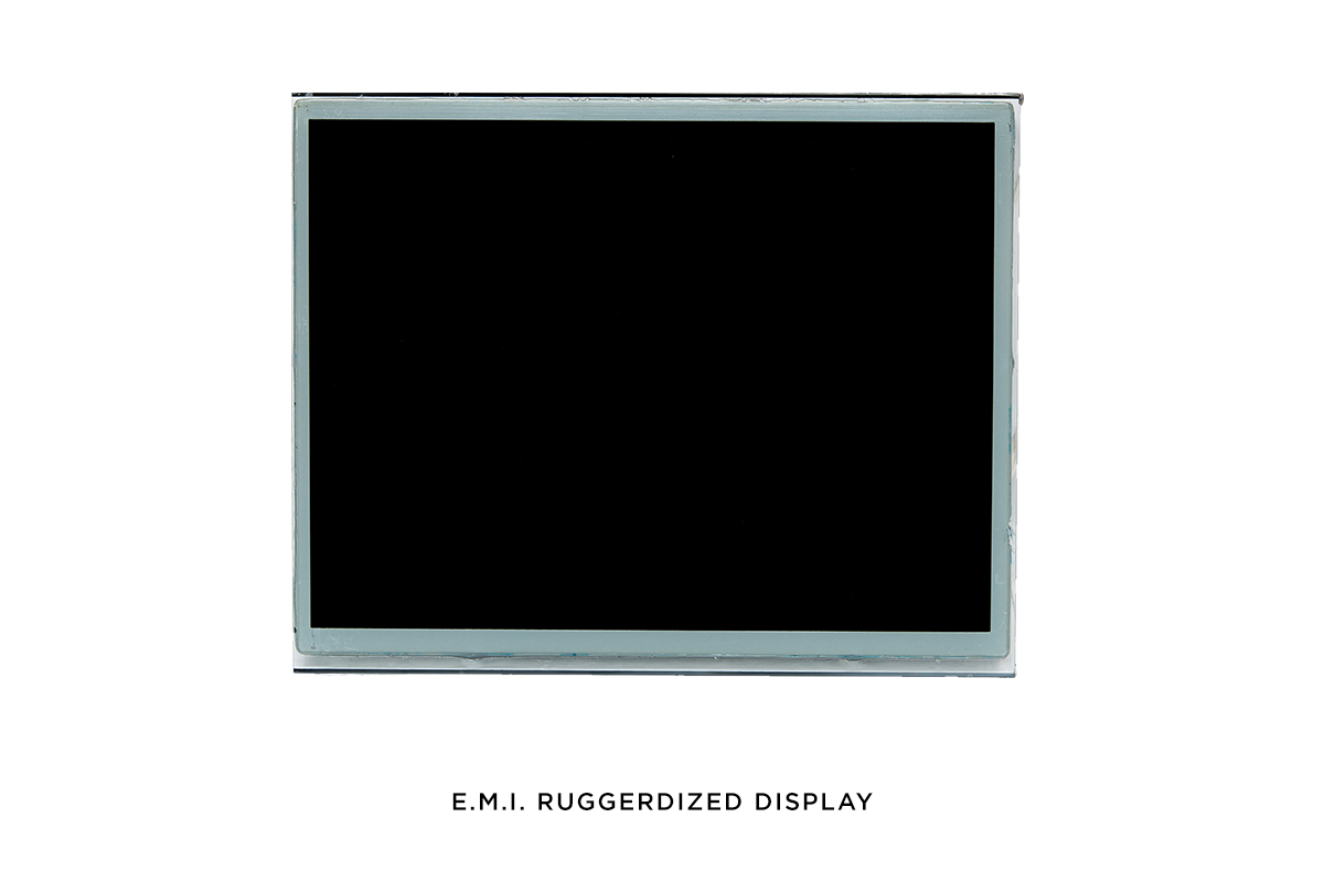 EMI  Ruggerdized  Display